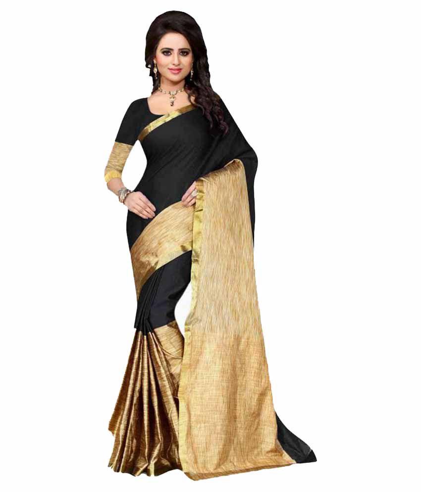Greenvilla Designs Multicoloured Bangalore Silk Saree