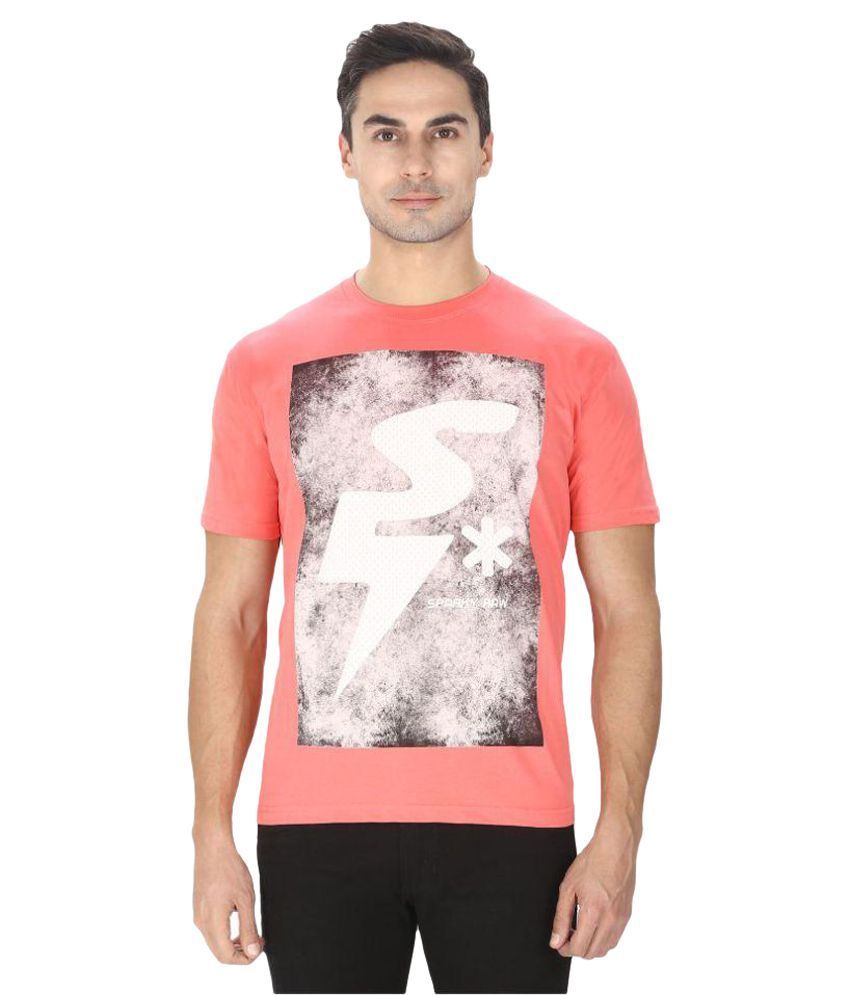 Sparky Pink Round T-Shirt