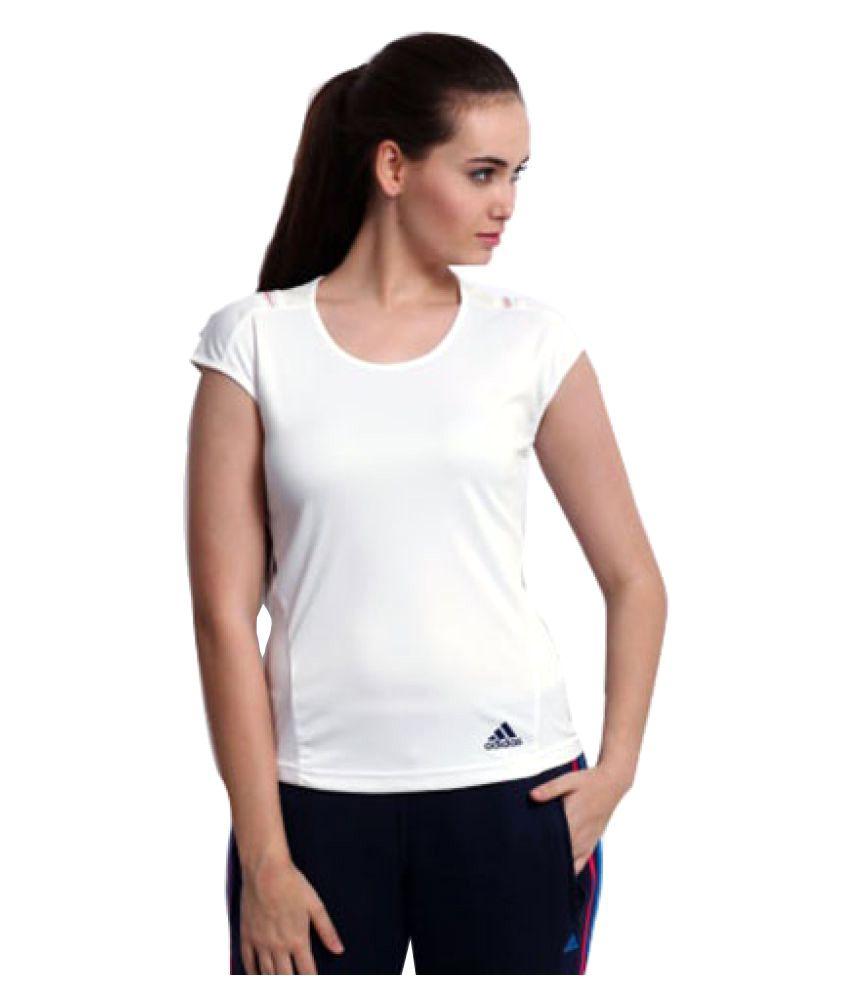 Le Donne Bianche Adidas Adipure Online T - Shirt: Comprare Online Adipure Al Miglior Prezzo Per Snapdeal fb8cac