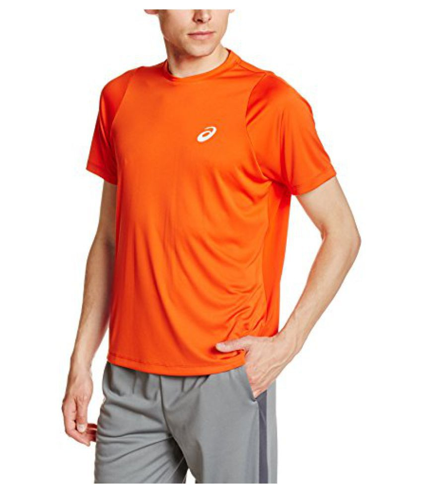 Asics Mens Regular Fit Club Ss Top