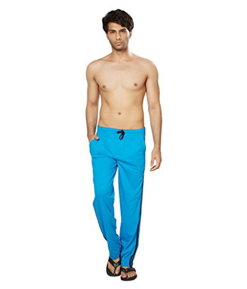 Clifton Mens Coloured Track Pants - Dark Blue