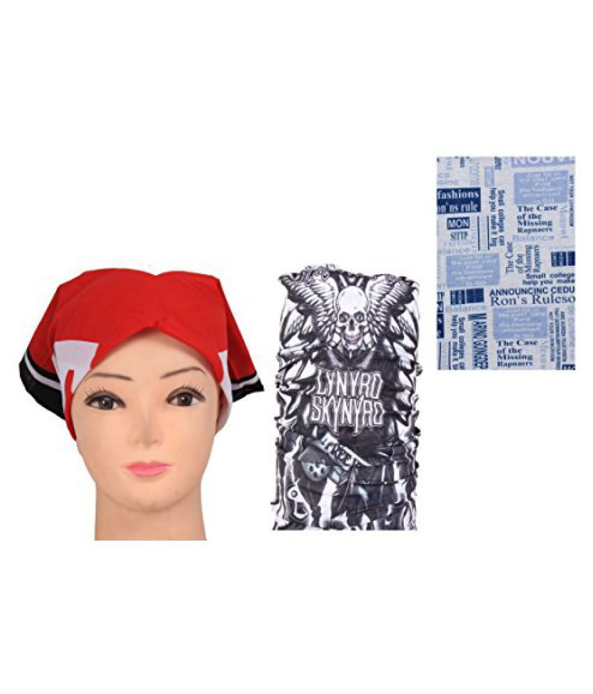 Fashion Multi Use Headwrap Combo Bandana
