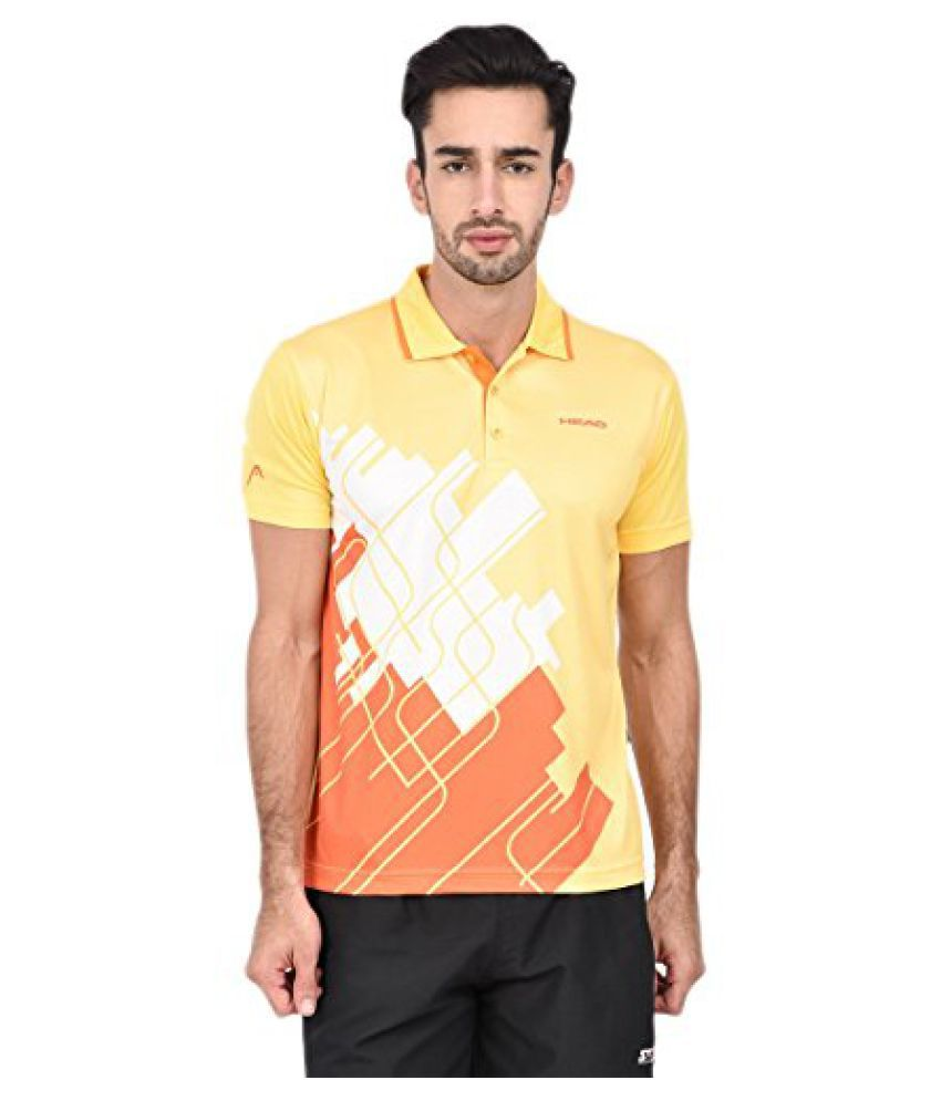 Head HCD-237 Polo Yellow/Orange/White Size - XXL