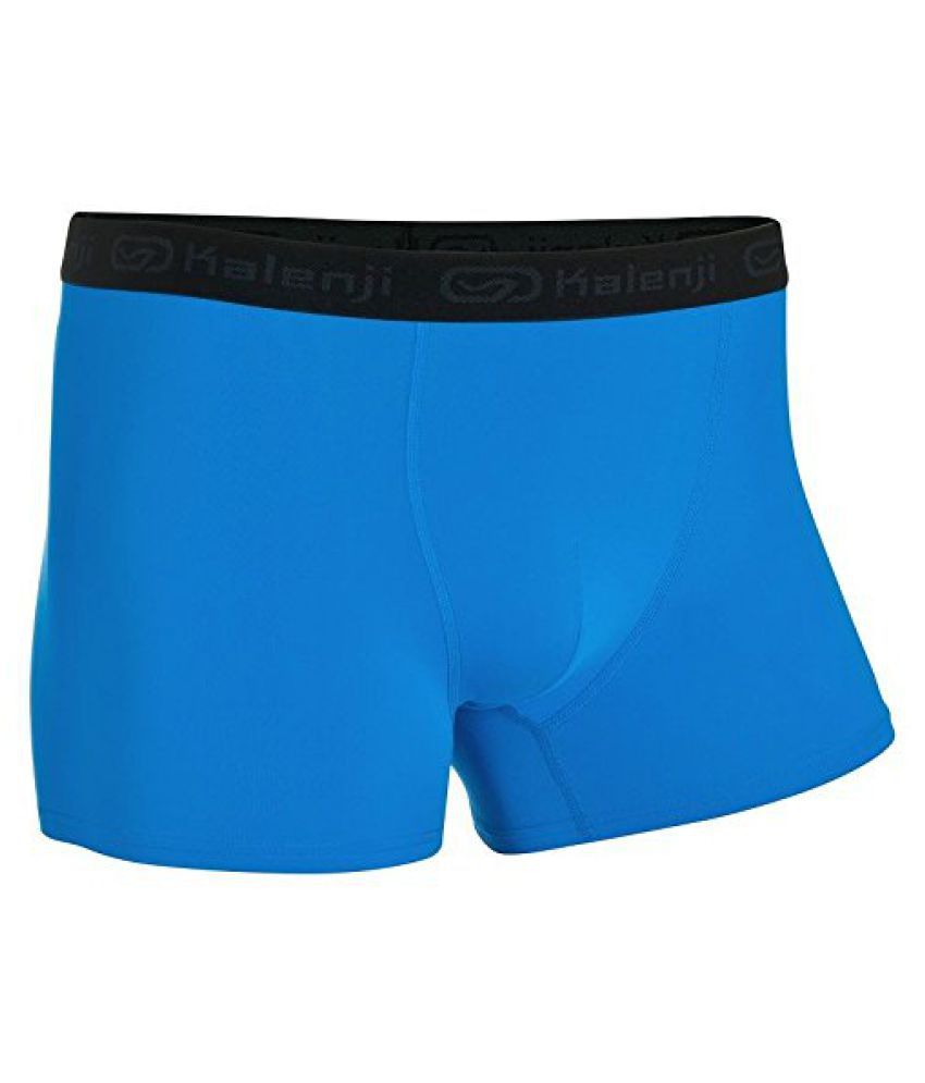 KALENJI MEN'S BREATHABLE RUNNING BOXERS - BLUE