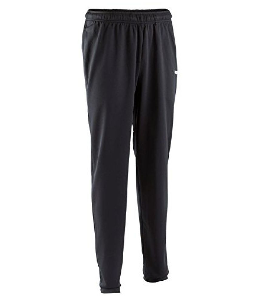 KIPSTA T100 ADULT TRAINING BOTTOMS - BLACK