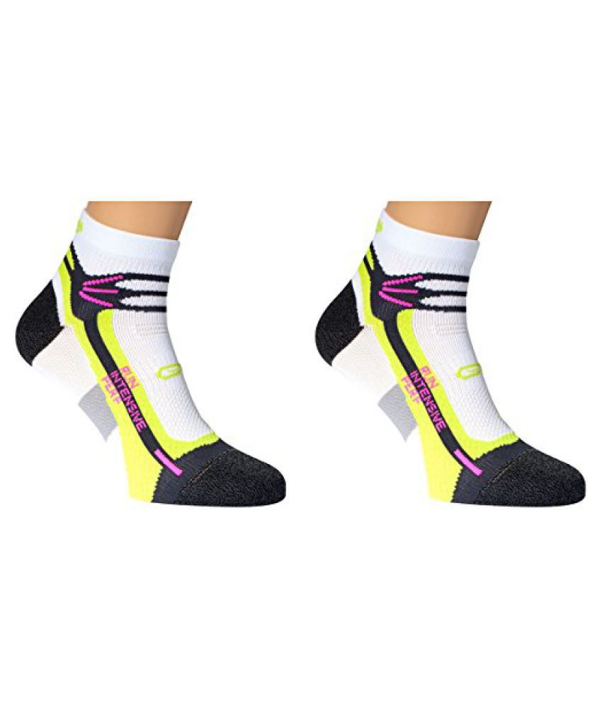 Kalenji Kalenji Run Intensive Socks Adult White Green