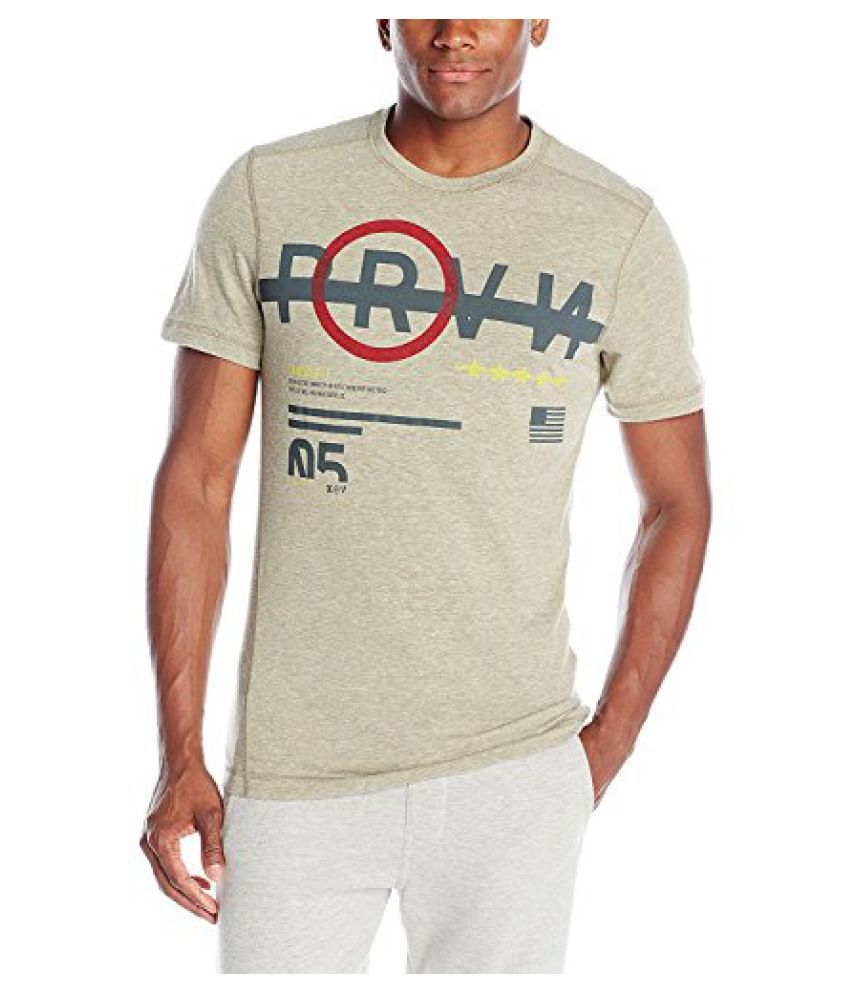 Reebok Men's Cross Fit Tri-Blend Short Sleeve Graphic