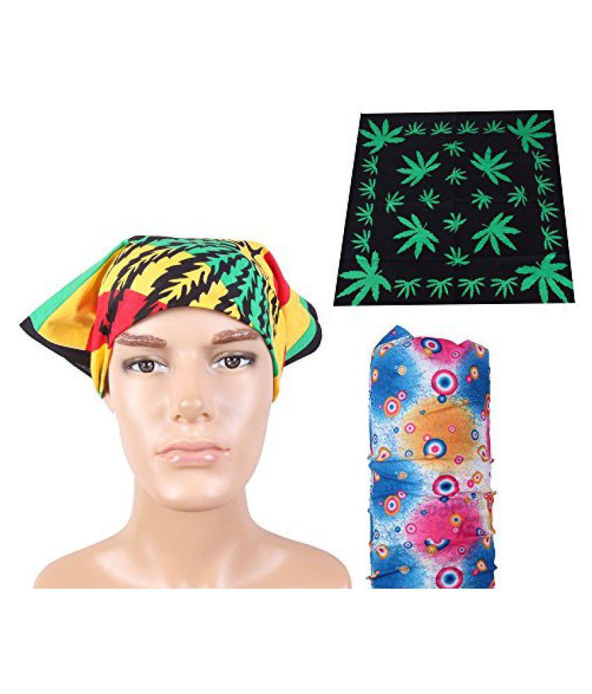 Ridders Style Fashion Headwrap Combo Bandana