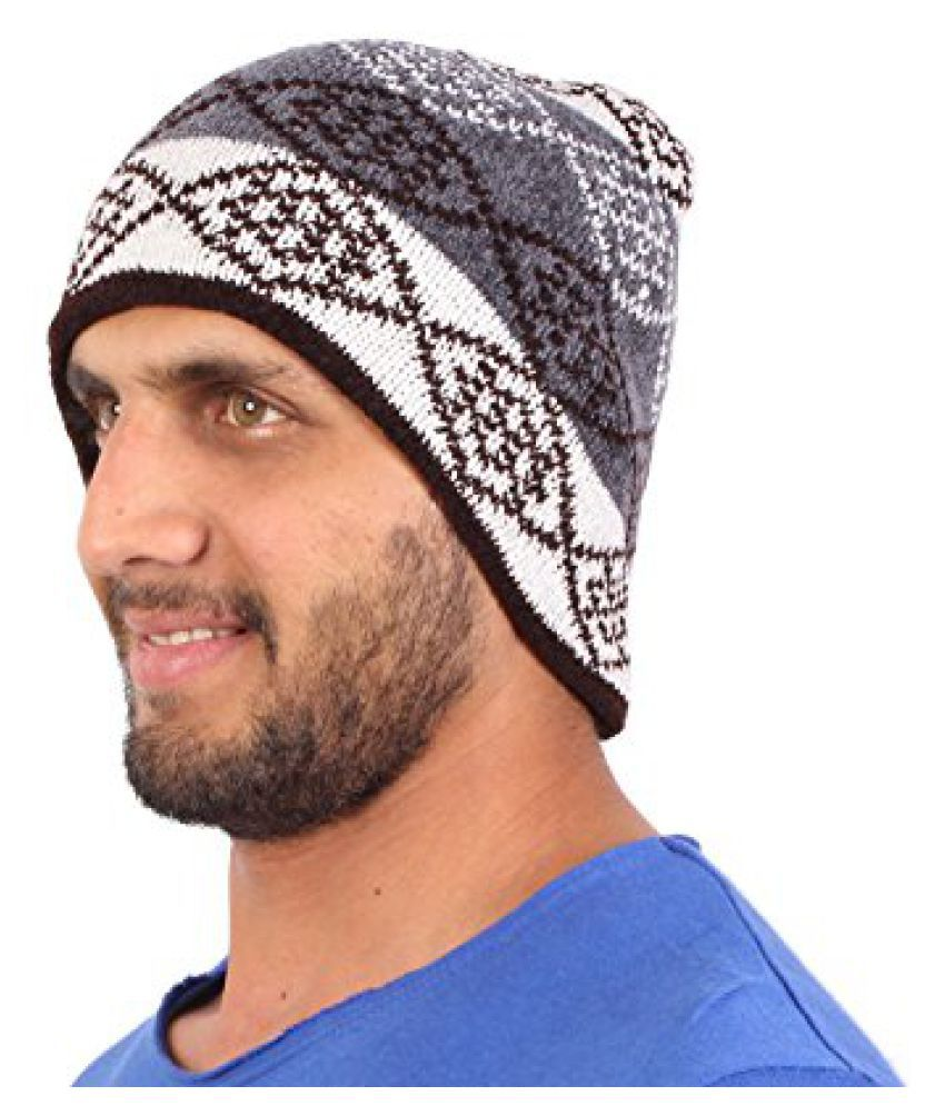 Sushito Fancy Multi Colour Warm Woolen Cap
