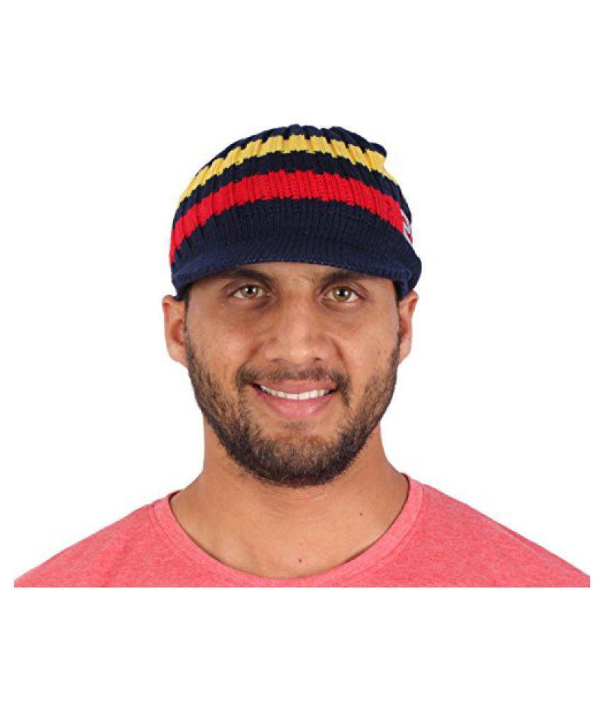 Sushito Funky Multi Colour Woolen Cap