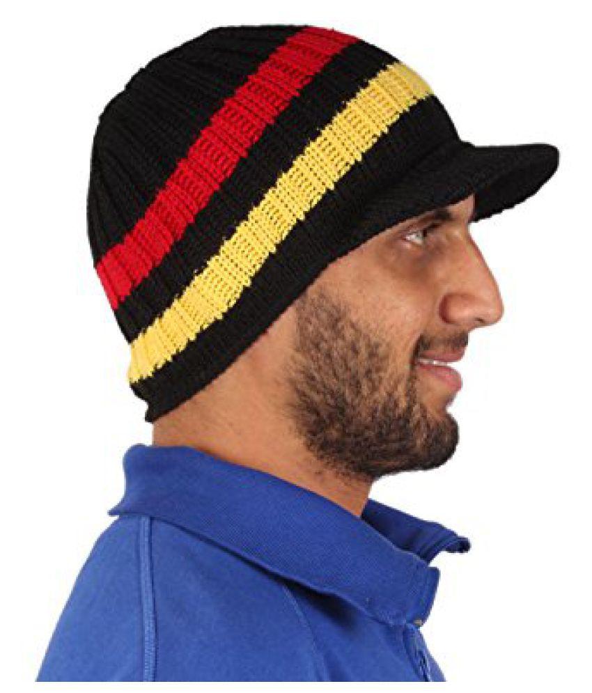 Sushito Stylish Multi Colour Woolen Cap