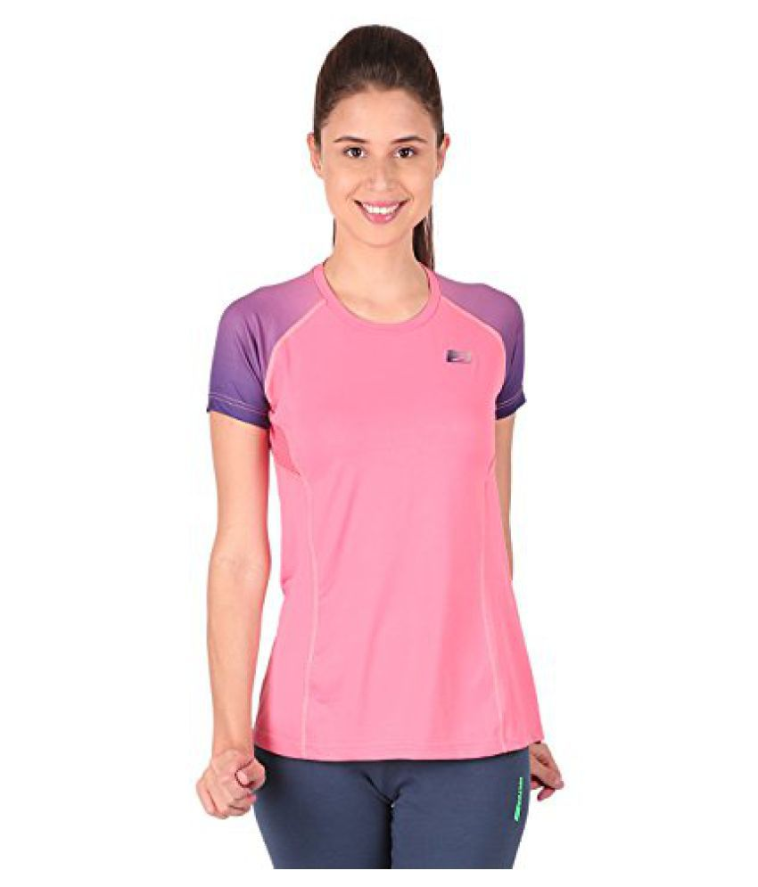 Vector X VTDF-006-A Running T-Shirt, (Pink/Purple)