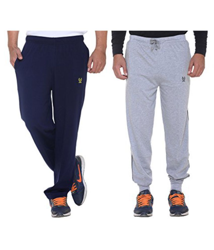 Vimal Mens Cotton Trackpants ( Pack Of 2)