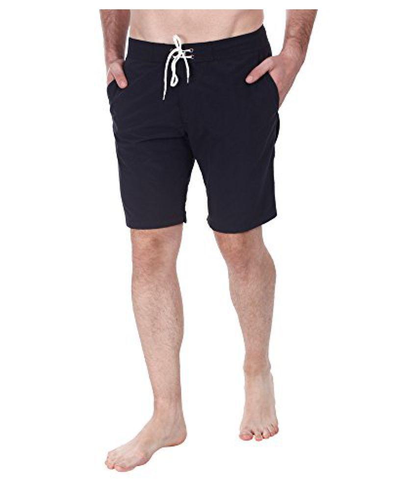 Zobello Men's Nylon Quick Dry Swim Shorts/ Swimming Costume