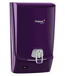 Livpure PEP Plus RO+UV Water Purifier (Purple)