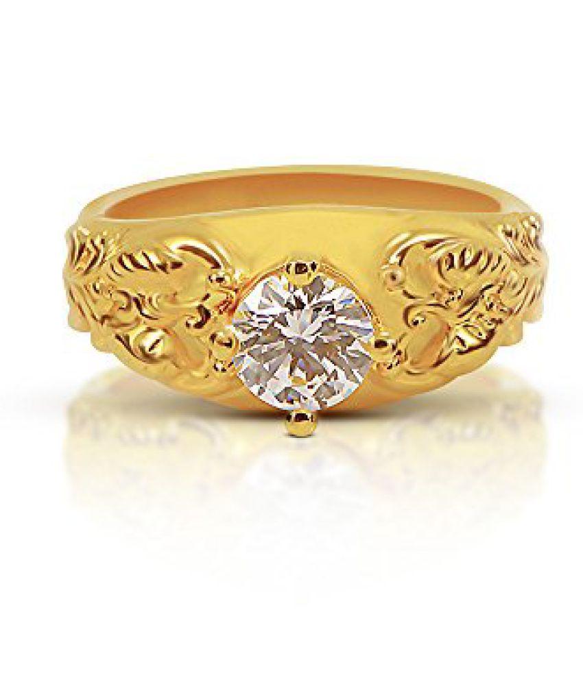 Joyalukkas Impress Collection 22k Yellow Gold Ring Buy Joyalukkas
