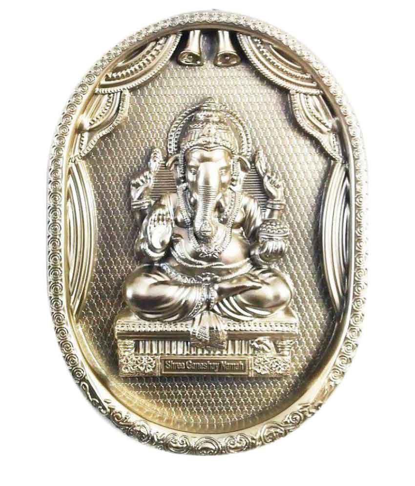 Laps of Luxury Ganesha Acrylic Idol