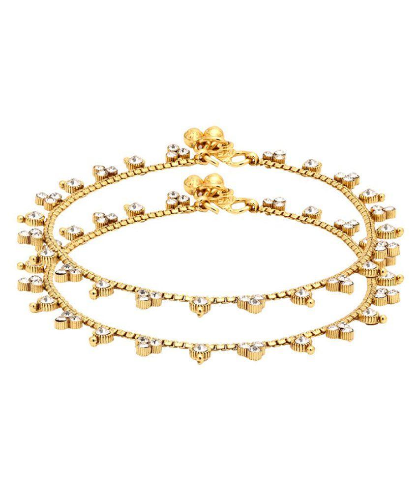 Voylla Gold Anklet