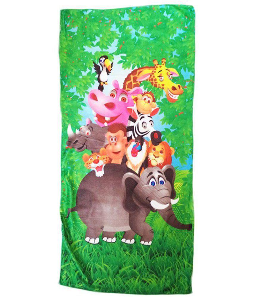 Catman Multi Cotton Bath Towels 1 Kids Towel