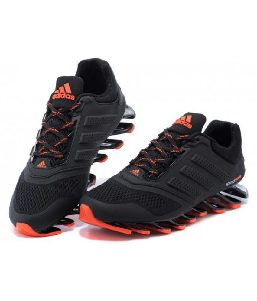 reputable site 018fd 88033 Adidas Springblade Drive M2 Running Shoes Black
