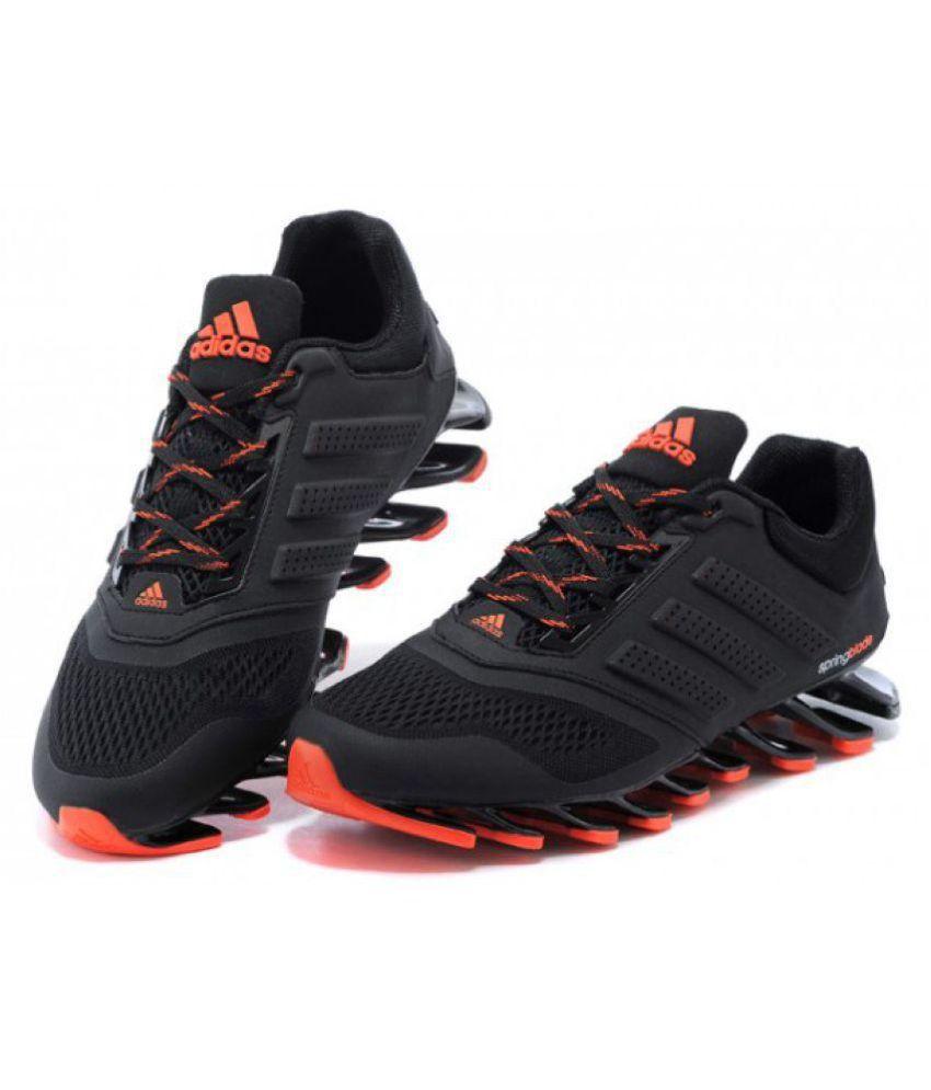 reputable site 9fe37 939cb Adidas Springblade Drive M2 Running Shoes Black