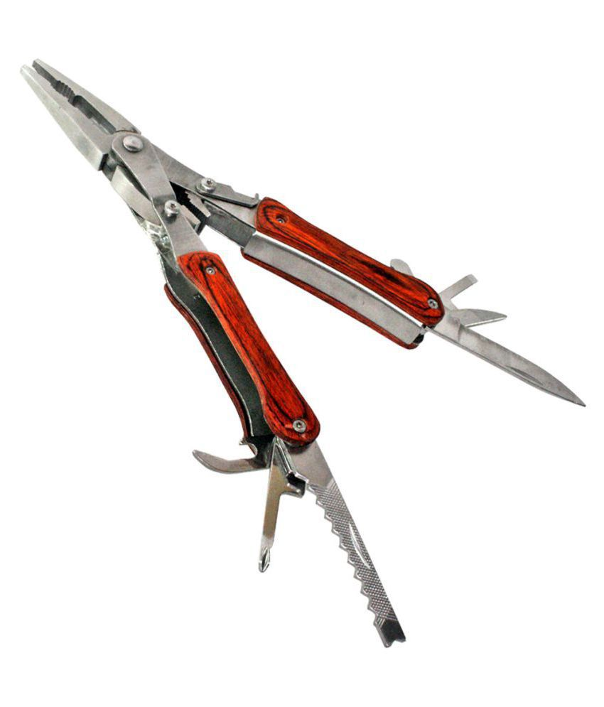 JM Multi Pliers Army Swiss Knife Hammer Hand Camping Outdoor Tool