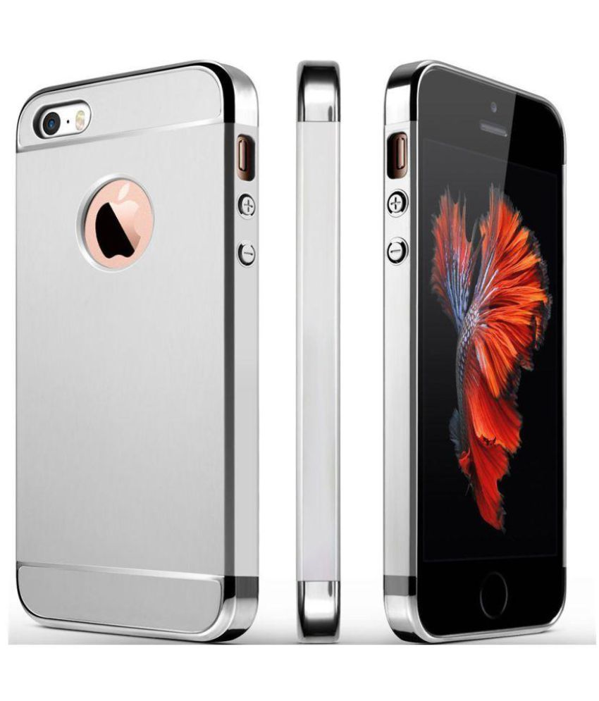 Apple iPhone SE Plain Cases ShineStar - Silver