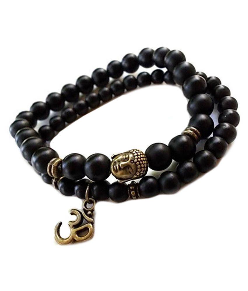 Young & Forever Black Bracelet -  Set of 2