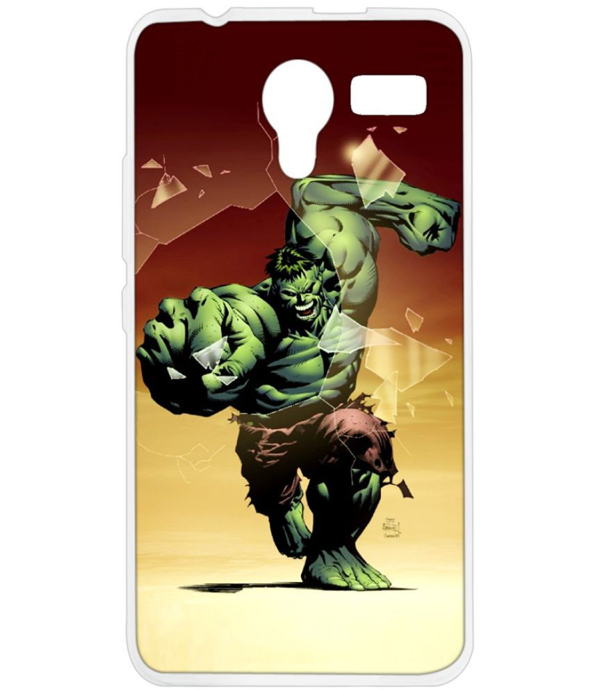 Lava X12 Printed Cover By Instyler
