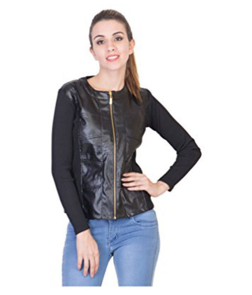 2a97418d0d Buy Raabta Faux Leather Jacket Online at Best Prices in India - Snapdeal