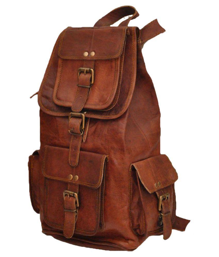 Alvyn Brown Backpack