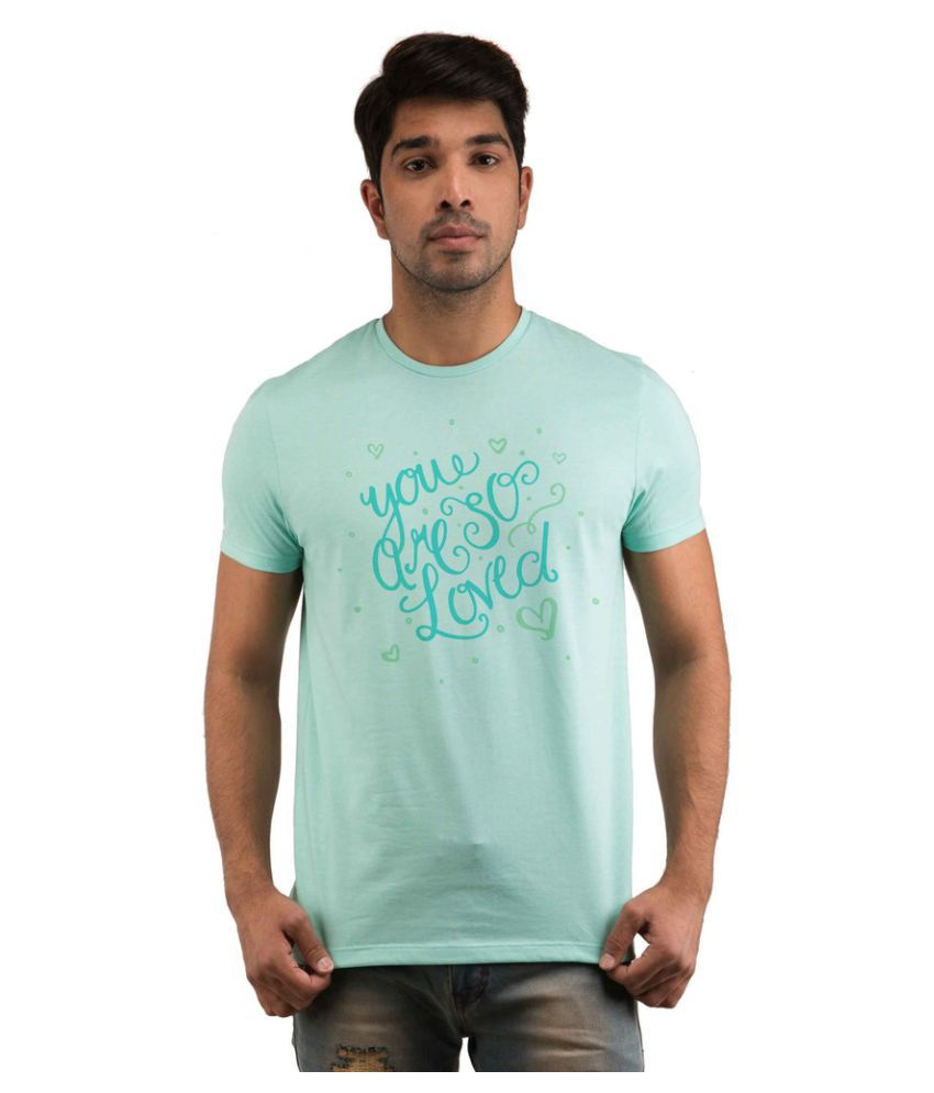 Snoby Green Round T-Shirt
