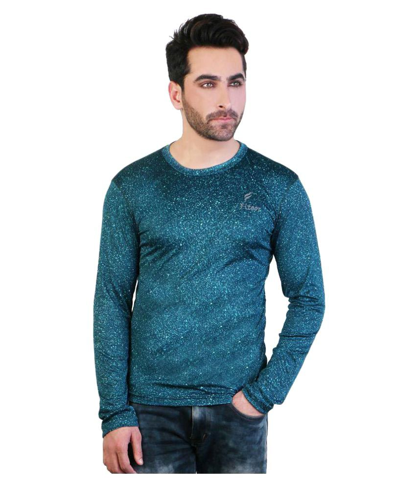 Fitoor Blue Cotton T-Shirt Single Pack