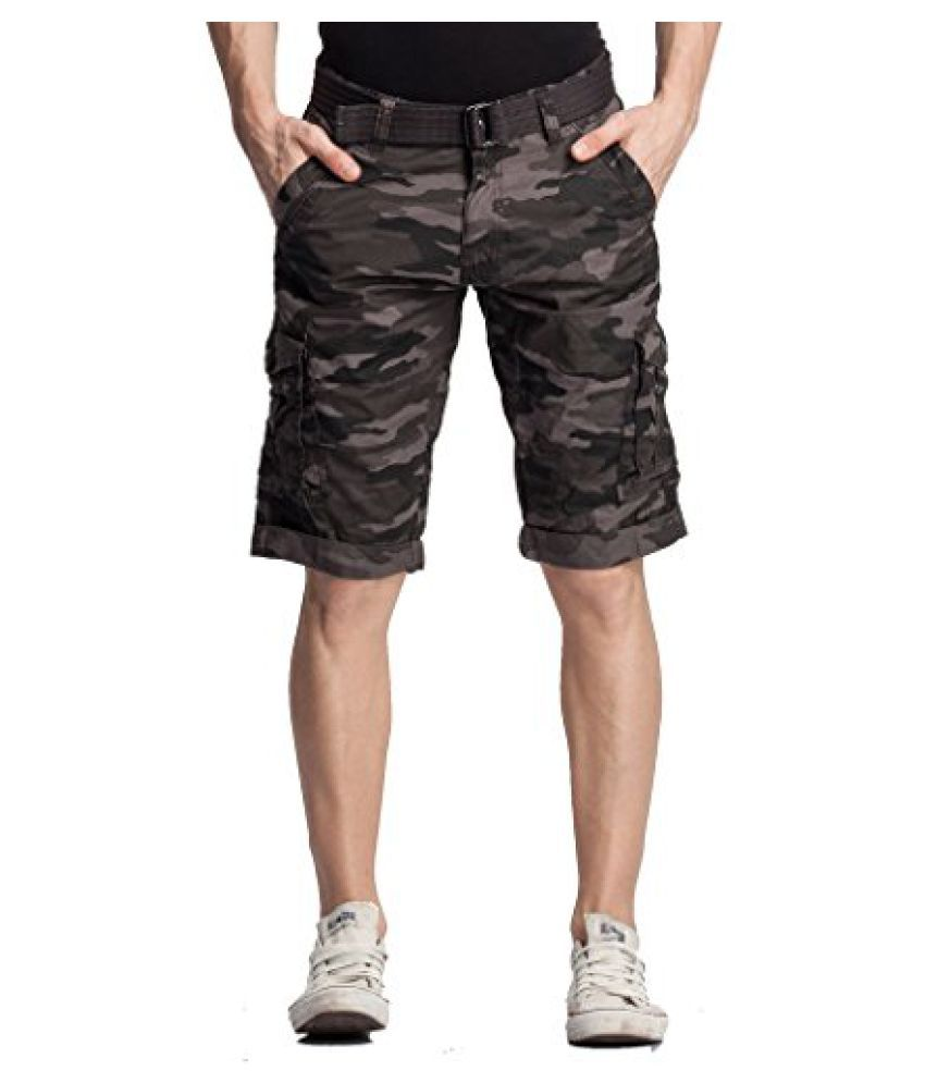 20f599e7ef58 Beevee Men's Cotton Cargo 3/4 Shorts - Buy Beevee Men's Cotton Cargo 3/4 Shorts  Online at Low Price in India - Snapdeal