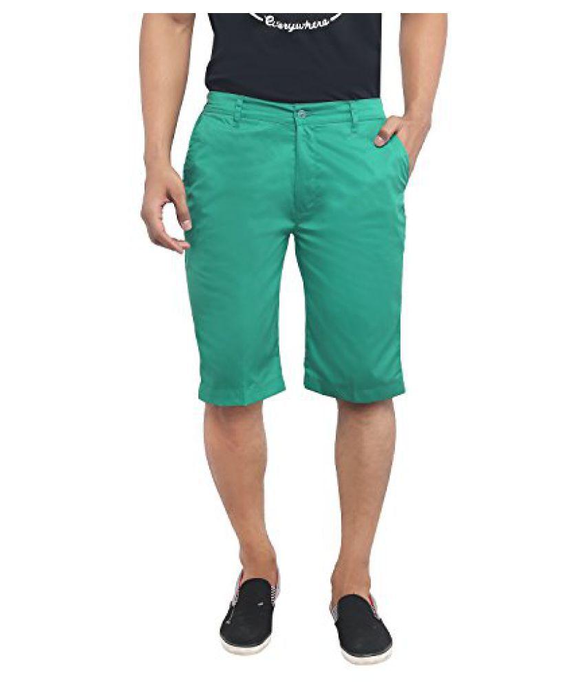 Mens Cotton Blend Shorts