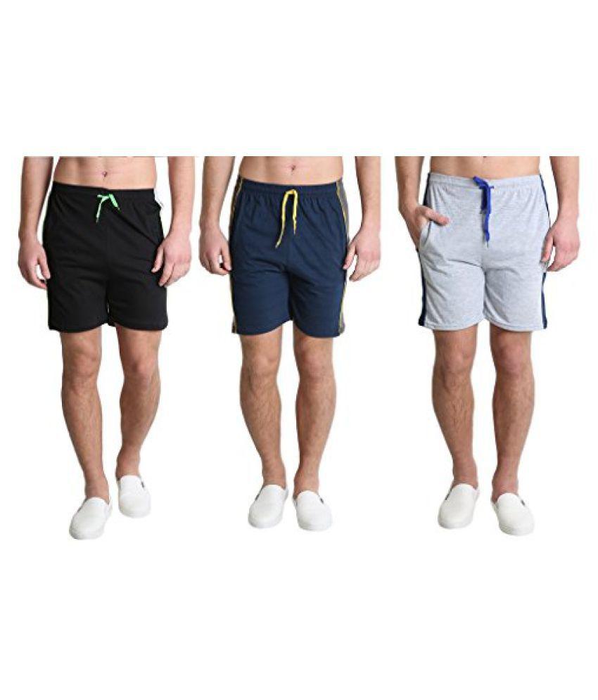 shorts for men (pack of 3)