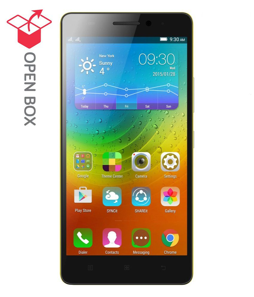 OPEN BOX Lenovo K3 Note K50a40  Black, 16 GB  available at SnapDeal for Rs.8199