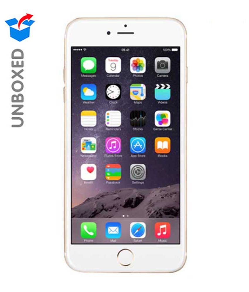 Unboxed Apple Iphone 6 Plus(gold, 64 Gb)  available at snapdeal for Rs.48999