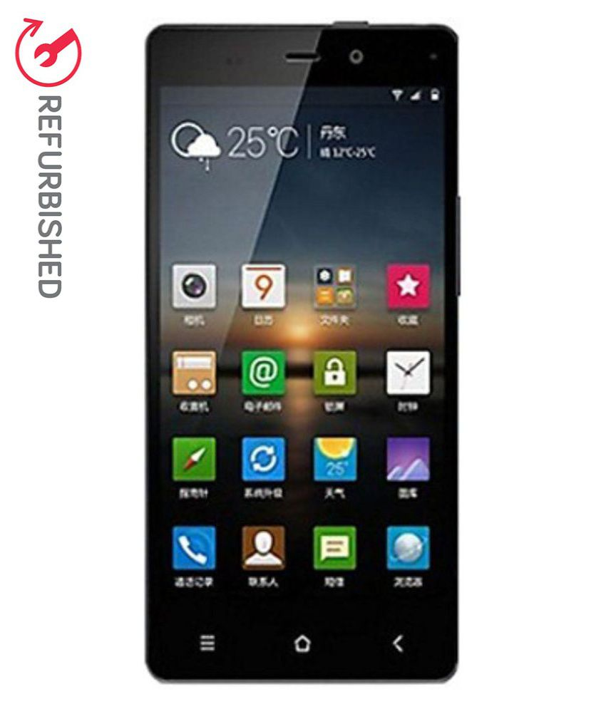 Refurbished Gionee Marathon M3 8gb- Black  available at snapdeal for Rs.9999