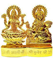 Only 4 You Laxmi Ganesh Brass Idol Show Piece- Pack of 1