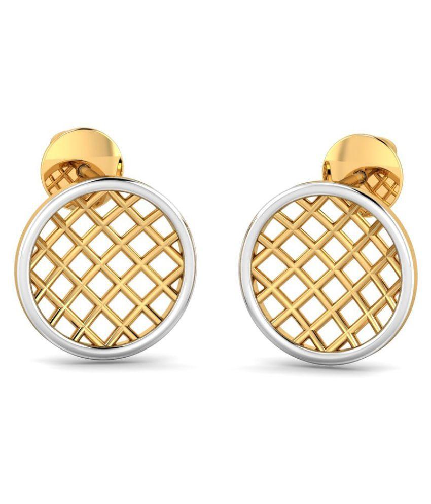 P.N.Gadgil Jewellers 22k BIS Hallmarked Gold None Studs