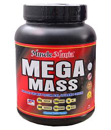 Muscle Mania Mass Gainer 1 GM VANILLA Mass Gainer Powder