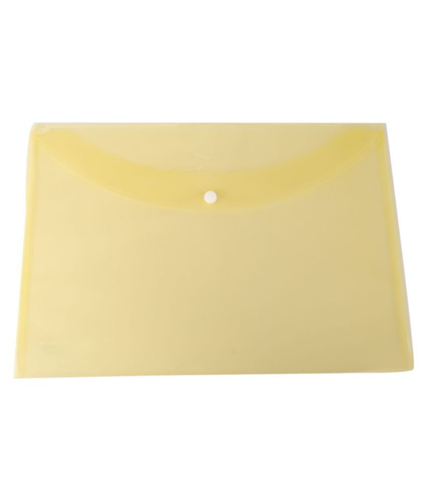 DataKing Yellow Document Bags