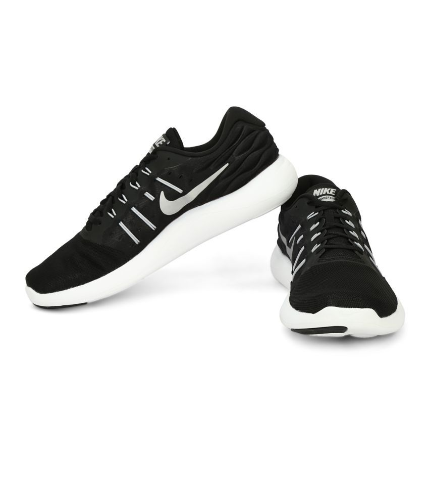 a71e45140a Nike NIKE LUNARSTELOS Black Running Shoes Nike NIKE LUNARSTELOS Black  Running Shoes ...
