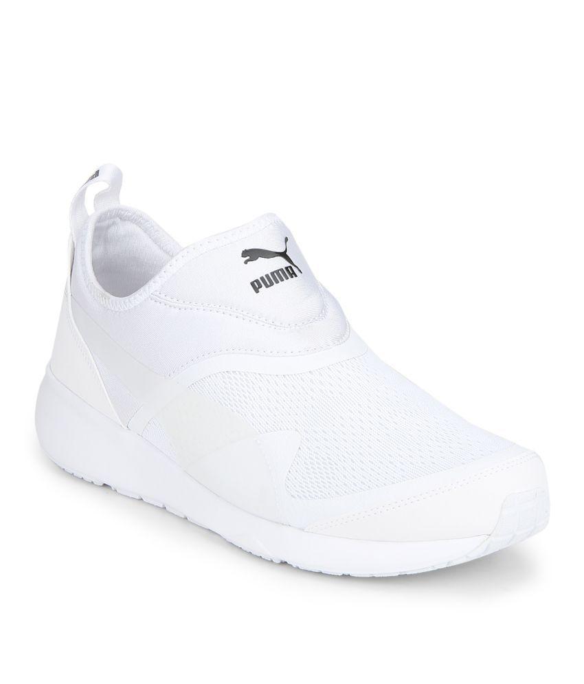 7b4853ef0abb Puma Aril Blaze White Casual Shoes - Buy Puma Aril Blaze White ...