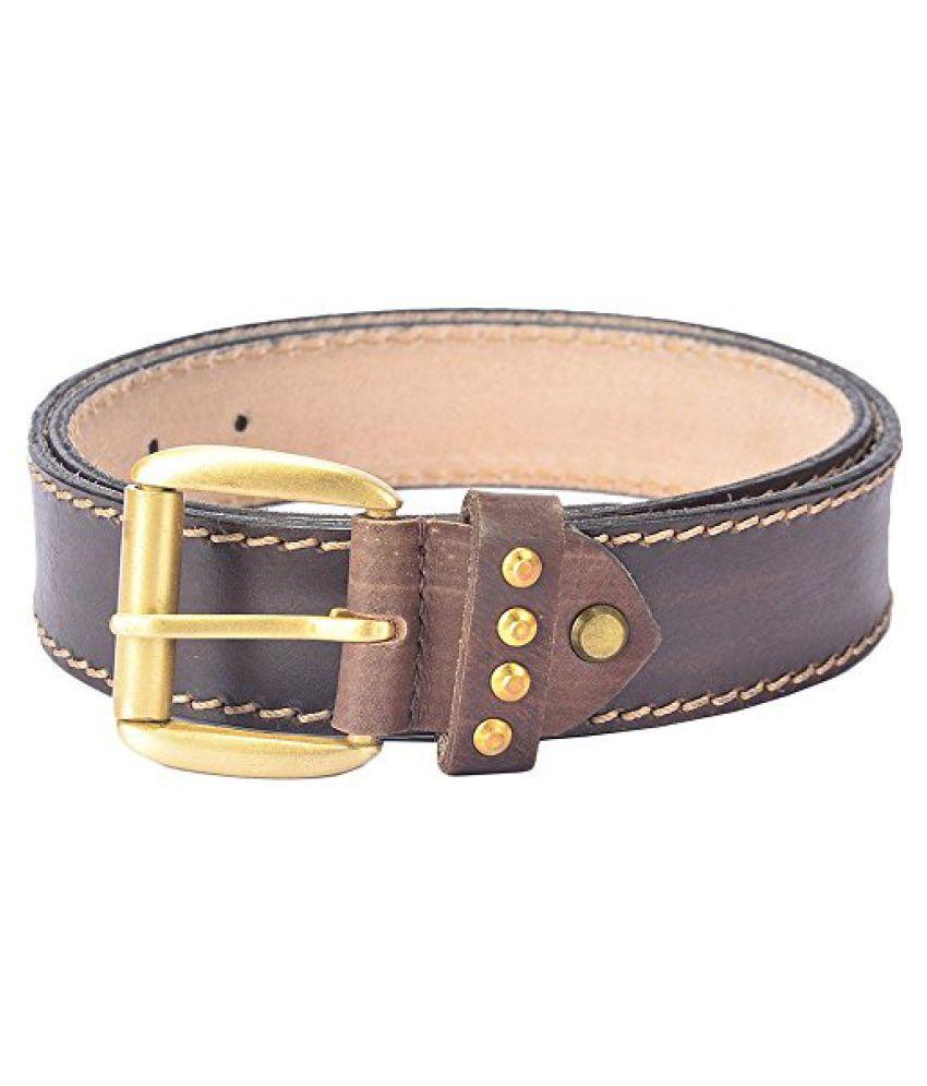 Hidelink Unisex Leather Belt (SP8087, Black, 36)