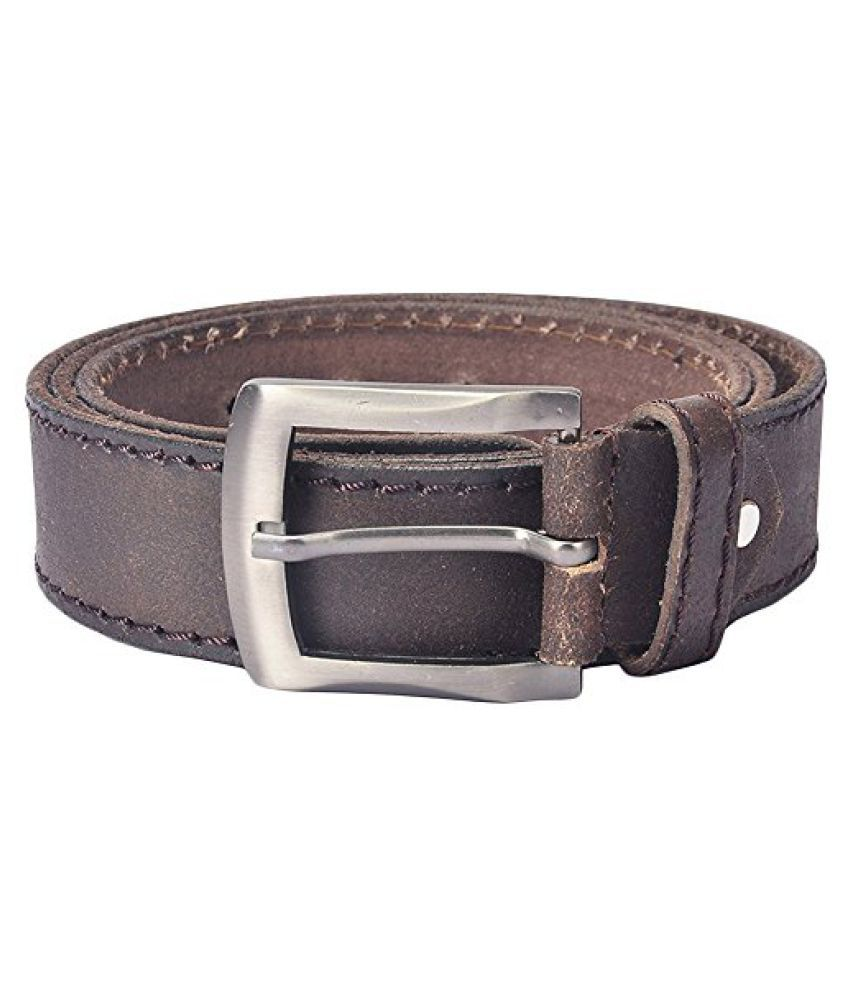 Hidelink Unisex Leather Belt (SP8090, Black, 34)