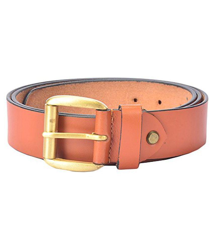 Hidelink Unisex Leather Belt (SP8092, Black, 40)