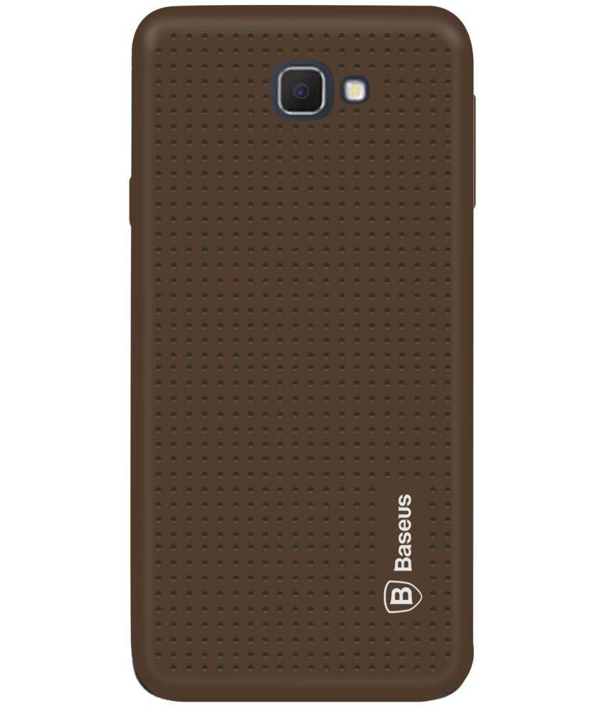 Samsung Galaxy J5 Prime Soft Silicon Cases Deltakart - Brown