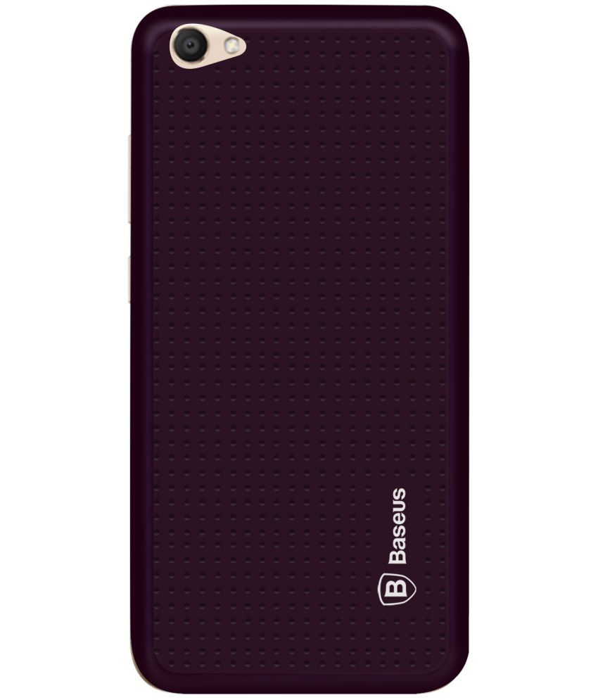 Vivo V5 Soft Silicon Cases Mobik - Purple